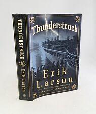 Thunderstruck-Erik Larson-SIGNED!!-DATED!!-TRUE First Edition/1st Printing-RARE