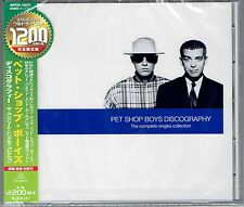 Discography THE BEST OF Pet Shop Boys - JAPAN CD * SEALED WPCR-16972