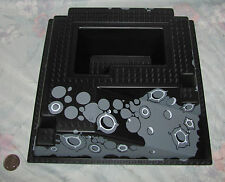 Lego part 2552 Black raised Base Plate 32x32 with Ramp from sets 6988 6991 6959