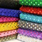 3mm Sequin Shiny Sparkly Material Nylon Polyester Fabric Fancy Dress