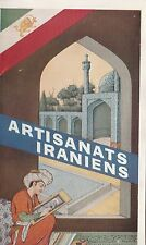 ARTISANATS IRANIENS 1958 IRANIAN ARTS BOOKLET IN FRENCH