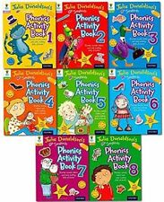 Songbird Phonics Activity Collection Set (8 Books)Julia Donaldson NEW RRP:£31.92