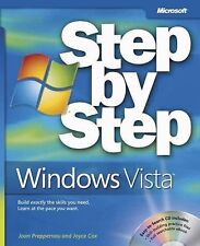 NEW - Microsoft  Windows Vista Step by Step by Joan Preppernau