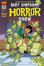 BART SIMPSONS HORROR SHOW # 20 + POSTER - PANINI COMICS 20016 - TOP