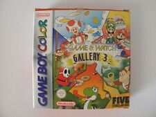 GAME & WATCH GALLERY 3 for NINTENDO GAMEBOY COLOR
