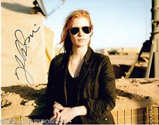"Jessica Chastain Colour 10""x 8"" Signed Photo - UACC RD223"