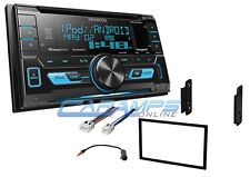NEW KENWOOD STEREO RADIO AUX/USB INPUTS WITH SIRIUS XM & WITH INSTALLATION KIT
