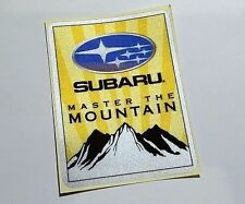 Subaru Master the Mountain Reflective Emblem Sticker Logo Decal STI WRX BRZ VX