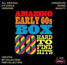Amazing Early 60s Box: 88 Hard-To-Find Hits (2013, CD NEU)3 DISC SET