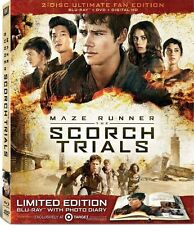 Maze Runner The Scorch Trials Blu-ray Ultimate Target Exclusive Digibook NEW