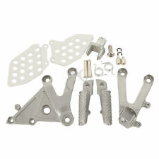 Front Rider Foot Pegs Footrest Brackets For HONDA CBR 600RR 2003-2006 2004 2005
