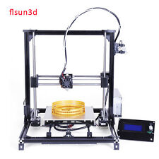 2017 FLSUN Prusa i3 3D Printer Kit With 2 Rolls Filament  Acrylic Heated Bed