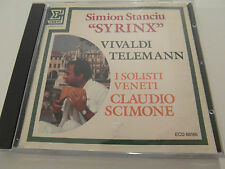 "Vivaldi Telemann / Simion Stranciu ""Syrinx"" (CD Album) Used Very Good"