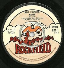 DAVE EDMUNDS - BABY I LOVE YOU / MAYBE - ROCKFIELD 1972 - CLASSIC 70s POP ROCK