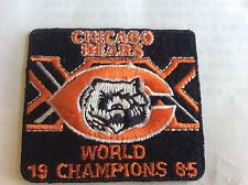 Sale Priced jersey Ready.  Chicago Bears World Champions 1985 Commerative Patch