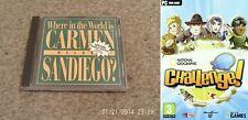 Où dans le monde est carmen sandiego deluxe & national geographic new & sealed