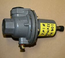 """FISHER CONTROLS Type 289H-42 1"""" backpressure relief valve 4-15 PSI spring rating"""