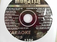 Monster Hits Karaoke CD+G vol-1104/ Faith Hill &Tim Mcgraw,Shania T & Bryan W