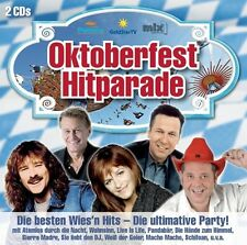 OKTOBERFEST HITPARADE - DIE BESTEN WIES'N HITS - DIE ULTIMATIVE PARTY  2 CD NEU