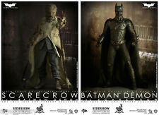 HOT TOYS MMS140 - BATMAN DEMON & SCARECROW Figure Set from BATMAN BEGINS F/S NEW