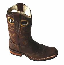 Men's Leather Cowboy Boots Animal Print  SPECIAL PRICE $89.99 Style #30101