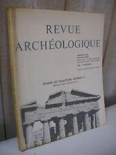 REVUE ARCHEOLOGIQUE 1968 n°1 Athéna Promachos urnes archaïques étrusques ......