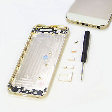 NEW REPLACEMENT BACK REAR HOUSING BATTERY COVER GOLD CHAMPAGNE FOR IPHONE 5S
