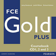 Longman FCE GOLD PLUS Coursebook Audio CD's 1, 2 and 3 @BRAND NEW & SEALED@