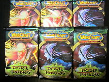 WoW FR - 6 BOOSTERS de 15 cartes WoW - A travers la Porte des Ténèbres VF