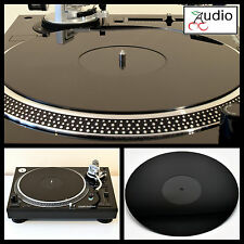 TECHNICS sl1200 - 1210, Lenco, Audio Technica. ACRILICO GIRADISCHI PIATTO MAT