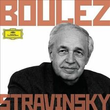 Boulez Conducts Stravinsky 6 CDs , DG Deutsche Grammophon NEW. SEALED