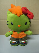 Hello Kitty Street Fighter Blanka plush - NEW Comikaze Exclusive Limited to 1000