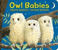 Owl Babies by Martin Waddell (2015, Board Book)