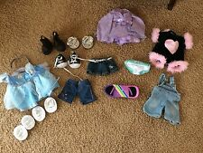 14 Piece Lot Of BUILD A BEAR Clothes Shoes And Accessories ~ Skate Board