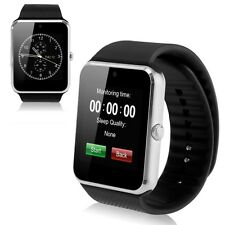 GT08 Bluetooth Smart Wrist Watch Phone Mate 8W Camera SIM & TF For Android IOS
