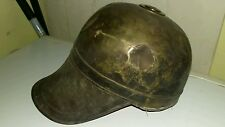 Vintage antique helmet odd fellows knight masonic Prussian looking mid evil