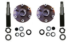 Build Your Own Trailer Axle Kit 3500# Square Spindle 6 x 5.5 Hub Camper RV