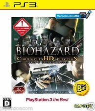 Used PS3 Biohazard Chronicles HD Select SONY PLAYSTATION 3 JAPAN JAPANESE IMPORT