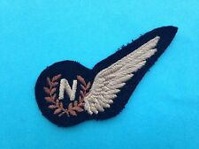 BRITISH ROYAL AIR FORCE NAVIGATOR  (N)