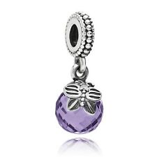 AUTHENTIC PANDORA Morning Butterfly TOUCH OF COLOR Charm,Purple,791258ACZ