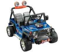 Fisher Price Power Hot Wheels Jeep Wrangler Quad 12V Battery Powered Ride On Toy