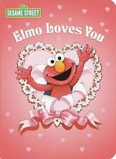 Elmo Loves You (Sesame Street) (Big Bird's Favorites Board Books)
