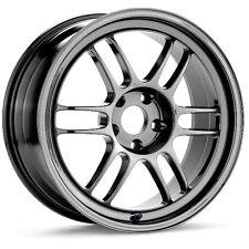 15x8 Enkei RPF1 4x100 + 28 Chrome Wheels (Set of 4)