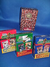 1990 PRO SET FOOTBALL - COLLECT A BOOK & '91 STAR PICS (4) NFL SETS ! LQQK !