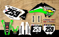 KAWASAKI KX85 2000 - 2013 MOTOCROSS MX GRAPHICS KIT CHEVY TRUCKS FULL KIT