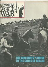 Purnells History of the 2nd World War Issue 78 Red Army Drive on Berlin  VGC