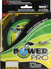 POWER PRO BRAIDED LINE POWERPRO YELLOW HI-VIS 15LB-150YD