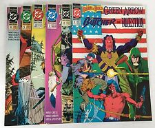 Brave And The Bold #1-6 (DC 1991) Full Set, Green Arrow/The Question/Butcher