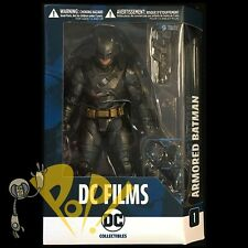DC FILMS Armored BATMAN Action Figure DC COLLECTIBLES In Hand USA!