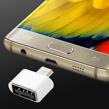 Mini Micro USB Host OTG Adapter Cable for Samsung Galaxy S6 S4 Note2 HTC Android